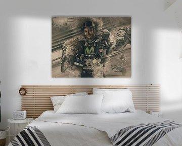 Valentino Rossi Jahrgang von Bert Hooijer