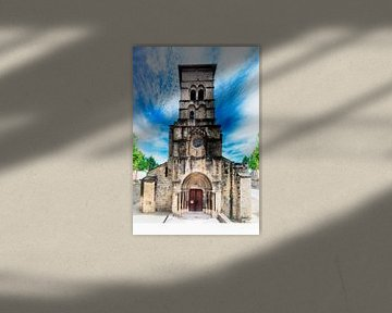 Kapelle (Abbaye Notre Dame de Cruas, Frankreich) von Erik Reijnders
