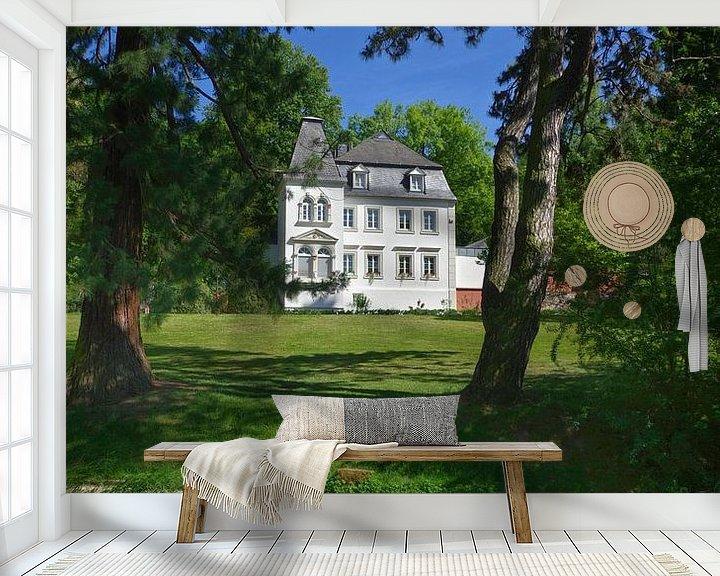 Sfeerimpressie behang: Korter kasteel van Berthold Werner