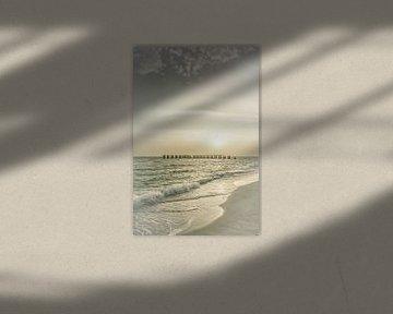 Gasparilla Island Sunset | Vintage van Melanie Viola