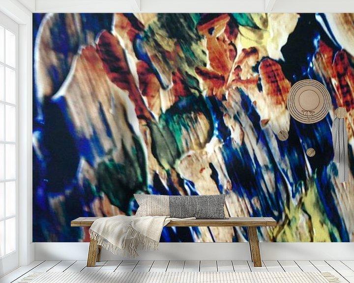 Sfeerimpressie behang: Speel met de kleuren van Peter Norden