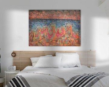 Paul Klee, Klippen am Meer, 1931 von Atelier Liesjes