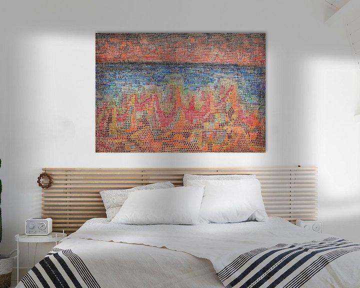 Beispiel: Paul Klee, Klippen am Meer, 1931 von Atelier Liesjes