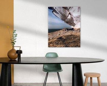 Horizon over een klif van Milad Hussin