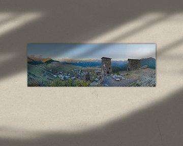 Fort Keselo, Omalo, Tusheti, Georgien von Arjan Oosterom