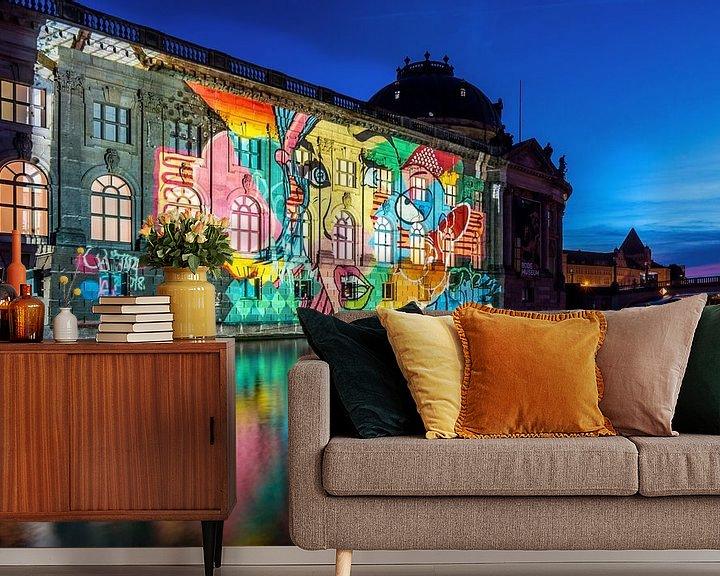 Impression: Le Bodemuseum Berlin sous un jour particulier sur Frank Herrmann