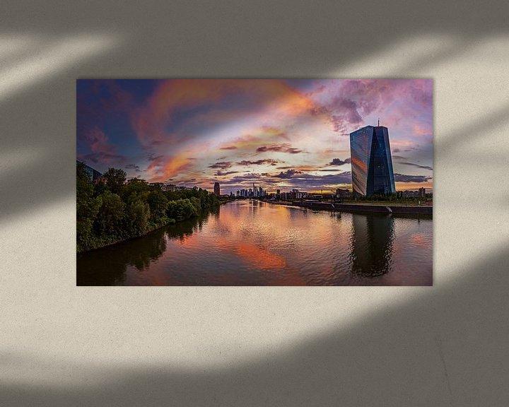 Impression: Skyline de Francfort sur Frank Herrmann