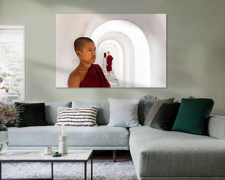 Sfeerimpressie: monniken van Antwan Janssen
