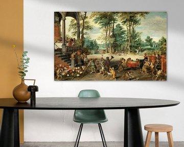 Satire auf die Tulpenmanie, Jan Brueghel der Jüngere