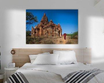 Monnik in Bagan van Antwan Janssen
