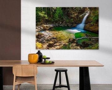 Verborgen waterval paradijs van MindScape Photography
