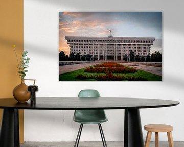 Parlament von Kirgisistan von Julian Buijzen