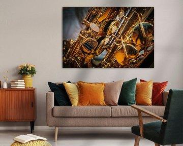 Saxofoon van Rob Boon