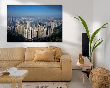 Victoria Peak, het uitkijkpunt van Hong Kong van Fulltime Travels