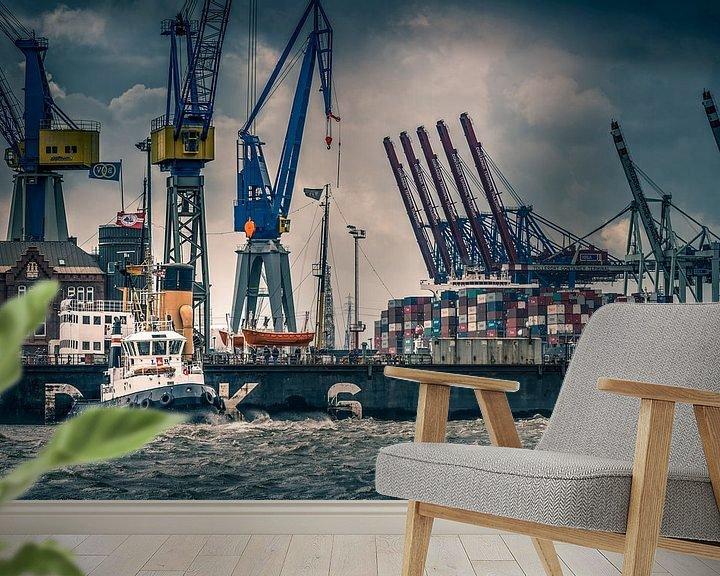 Beispiel fototapete: Hamburg von Ingo Boelter