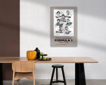 Formel 1 Weltmeister von 1990 bis 1999 von Theodor Decker