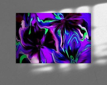 Paars/ Purple/Violett/Violet van Joke Gorter