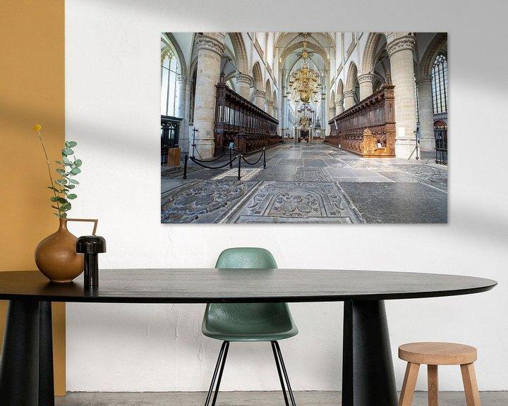 Sfeerimpressie: Grote Kerk Dordrecht van Ilse de Deugd