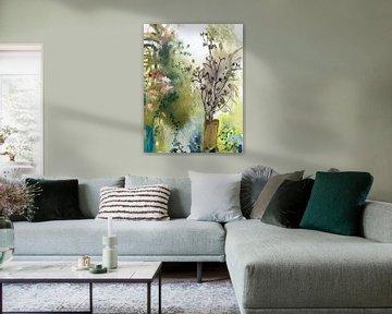 Ast auf dem Baumstumpf von Simone Zacharias