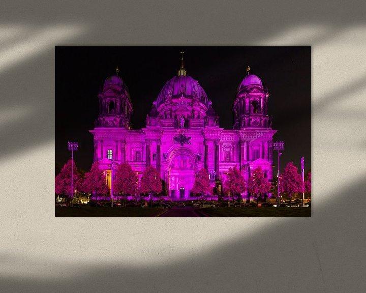 Sfeerimpressie: Berlijnse Dom in een bijzonder licht van Frank Herrmann