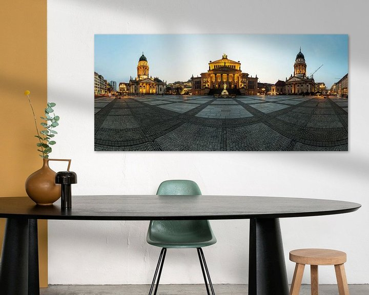 Impression: Panorama du Gendarmenmarkt de Berlin sur Frank Herrmann