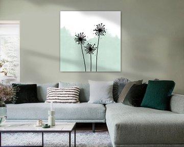 Blaasballen turquoise van Sophia Amend