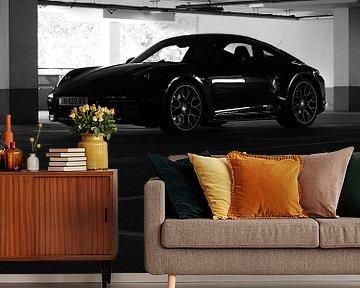 geparkter Porsche von Stephan Smit