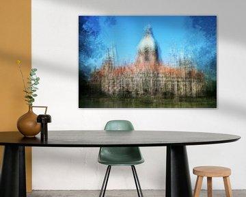 Neues Rathaus in Hannover von Axel Bückert