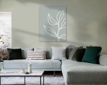 Pflanze abstrakt von Sophia Amend