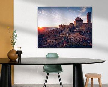 Volterra (Toscane, Italië) van Alexander Voss
