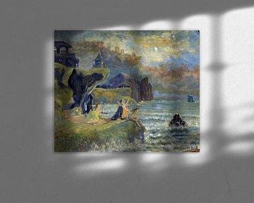 Louis Eilshemius, Sirenen des Meeres, 1908 von Atelier Liesjes