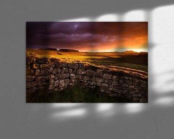 Hadrian's Wall Engeland van Frank Peters