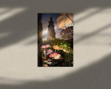 Umbrella (Lange Jan Middelburg) van Thom Brouwer
