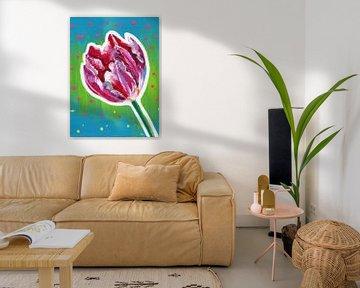 Party-Tulpe von ART Eva Maria