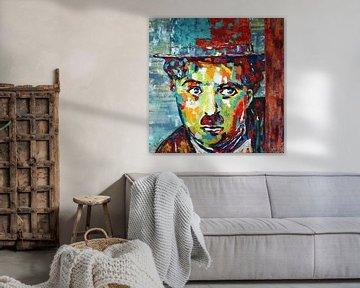 """Charlie Chaplin """"Moderne Zeiten"""" von Kathleen Artist Fine Art"""