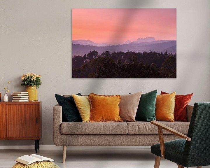 Beispiel: Tasmanien Cradle Valley Sonnenaufgang  - National Park - von Jiri Viehmann