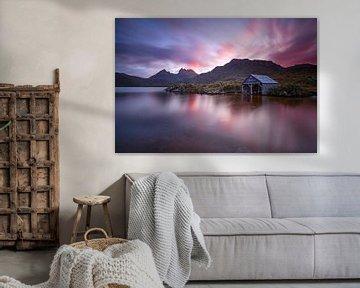 DOVE LAKE - Tasmanien Cradle Mountain   National Park von Jiri Viehmann