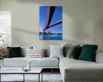 De Nesciobrug in Amsterdam van Marcel van den Bos