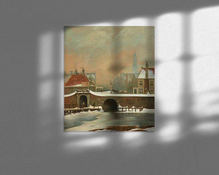 Sfeerimpressie: Het Raampoortje in Amsterdam, Wouter Johannes van Troostwijk