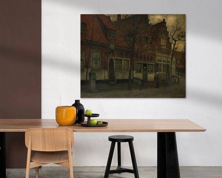 Beispiel: Häuser an der Breedstraat, Enkhuizen, Eduard Karsen