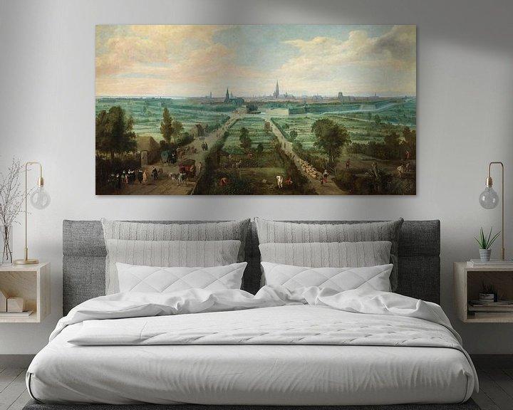 Beispiel: Blick auf Antwerpen, Jan Wildens