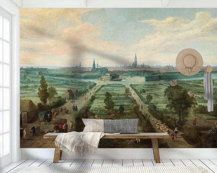 Beispiel fototapete: Blick auf Antwerpen, Jan Wildens