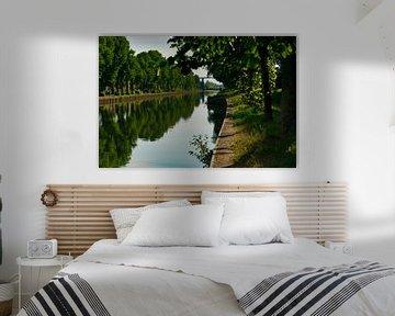 Le silence sur le canal le Zuid Willemsvaart sur JM de Jong-Jansen