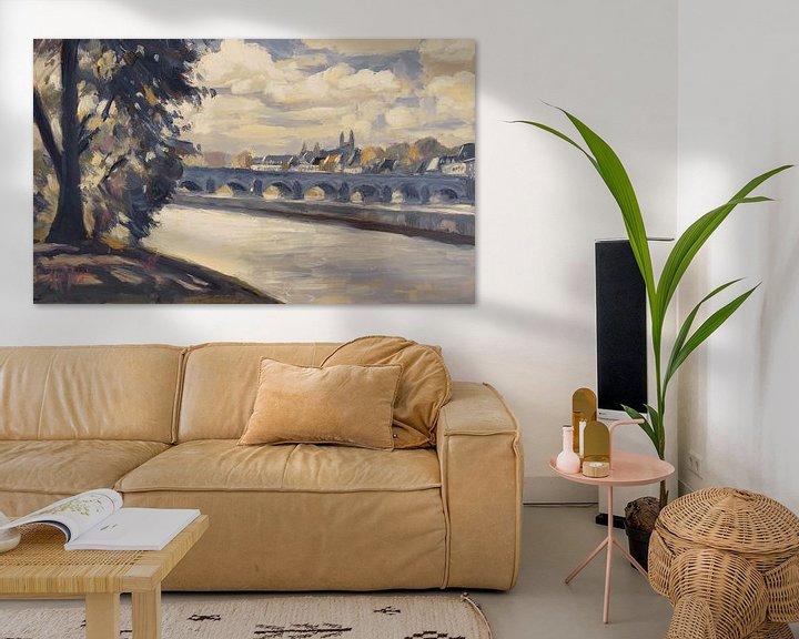 Beispiel: Maastricht, von Wyck aus gesehen von Nop Briex