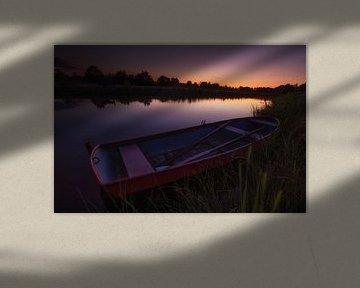Ramez au coucher du soleil sur Jacques Jullens