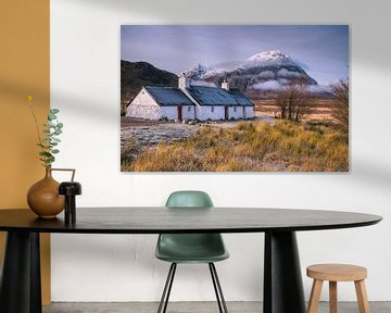 Black-Rock-Häuschen, Glencoe, Schottland von Bob Slagter