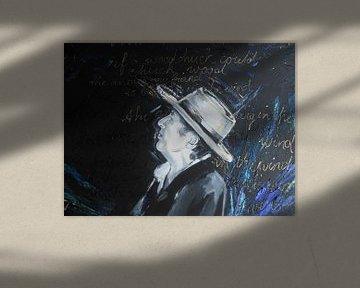 Bob Dylan - Blowing in the wind von Lucia Hoogervorst