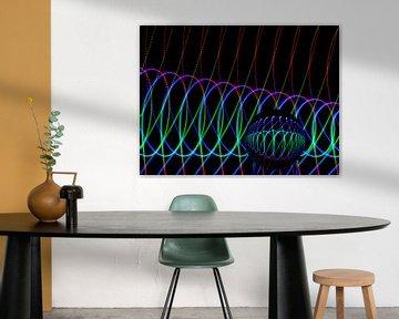 Die Kunst der Linien #1 von Lex Schulte