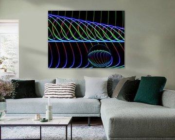 Die Kunst der Linien #3 von Lex Schulte