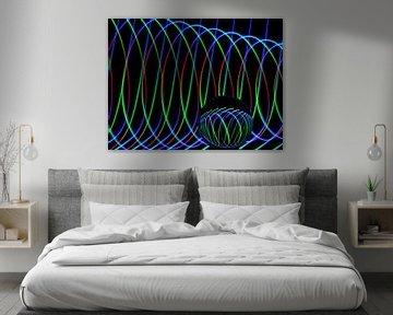 Die Kunst der Linien #4 von Lex Schulte